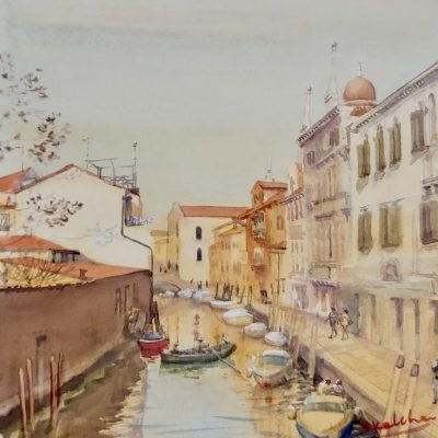 19th-22nd August 2021 Live 4 Day Virtual Italian Art Retreat