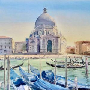 11th-16th June 2021 Venice Watercolour Course