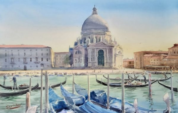 11th-16th June 2021 Venice Watercolour Course