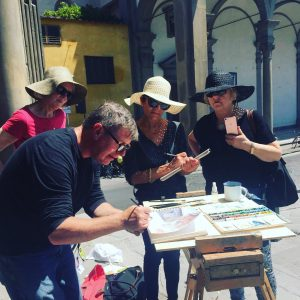 23rd - 28th October 2021 Florence Watercolour Course