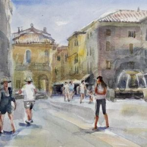 17th-22nd April 2021 Florence Watercolour Course