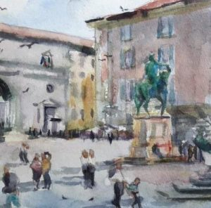 7th-12th May 2022 Florence Watercolour course