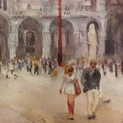 17th-22nd September 2021 Venice Watercolour Course